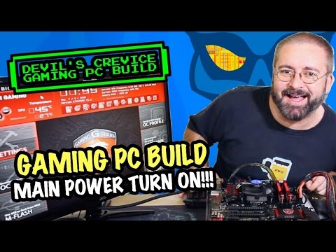 The Real Build Begins - Devils Crevice Gaming PC Build