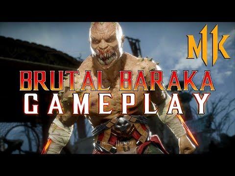 Mortal Kombat 11: Brutal Baraka Gameplay! thumbnail