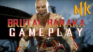 Mortal Kombat 11: Brutal Baraka Gameplay!