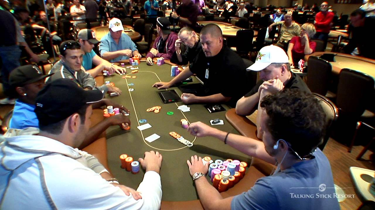 8th Annual Arizona State Poker Championship  Talking