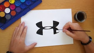 How To Draw The Under Armour Logo