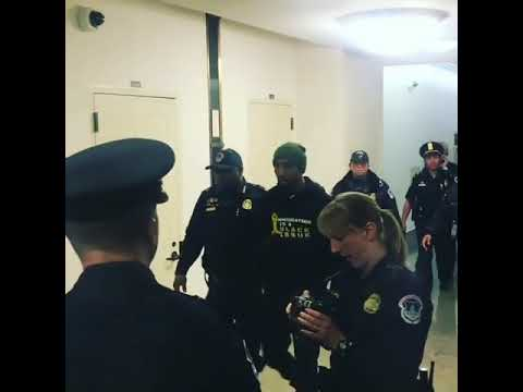 Rapper mysonne gets arrested today !!! For taking a stand