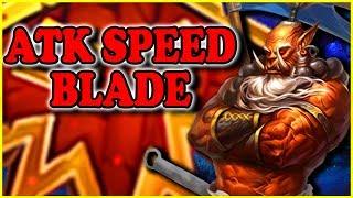 "Grubby | ""ATK Speed Blade"" | Warcraft 3 | ORC vs NE | Last Refuge"