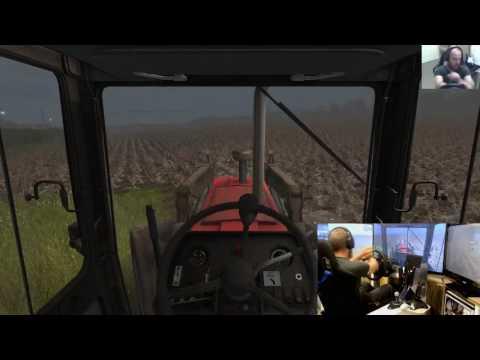 Farming Simulator 17 lets play Ballymoon Castle E8 wheel+joystick