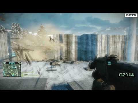 Battlefield Bad Company 2 ATI 5770 Gameplay 1080p