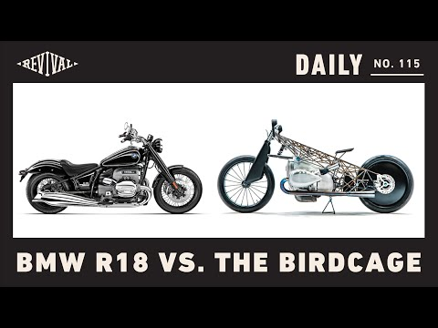 BMW R18 vs. The Revival Cycles Birdcage // Revival Daily 115