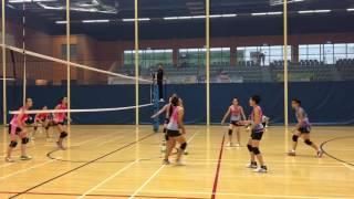 2016-2017 女甲排球學界(梁省德vs可風)第一場
