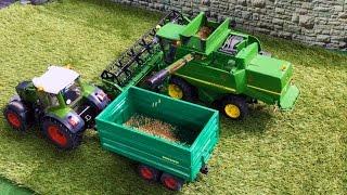 BRUDER Toys JOHN DEERE Harvester RC conversion MEGA! BRUDER TRACTOR 🚜FENDT 936 Vario rc Umbau!