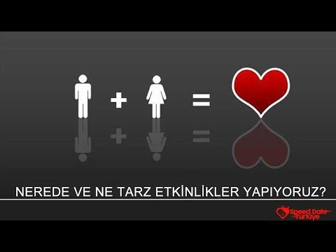 speed dating türkiye