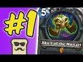 1 Winrate Deck Feat. Skull Of The Manand39ari  Otk Warlock  Hearthstone  Disguised Toast