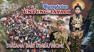 Download Lagu Suasana Dari Udara Nyongkolan Untung Jayadi Full Video bersama Azya Music mp3