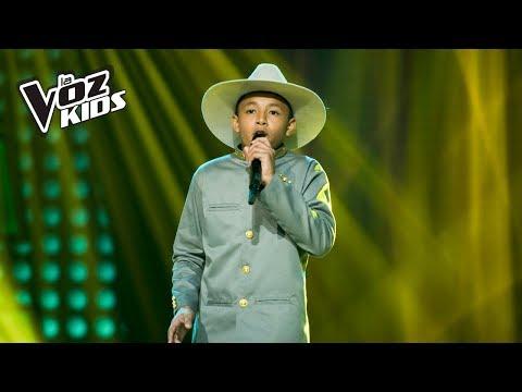 Mario Alejandro canta Una Casita Bella Para Ti - Audiciones a ciegas   La Voz Kids Colombia 2018