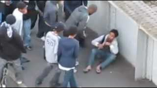 London riots 2011. Man helped and then robbed.