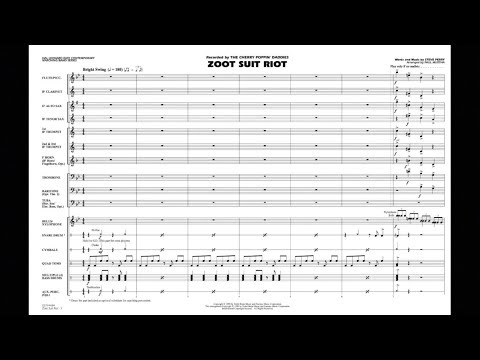Zoot Suit Riot by Steve Perry/arranged by Paul Murtha