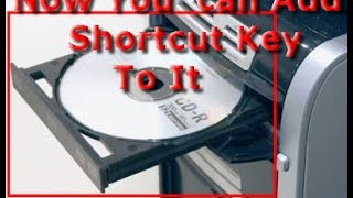 Video How to Put a shortcut key for your CD Drive to Open download MP3, 3GP, MP4, WEBM, AVI, FLV Juli 2018