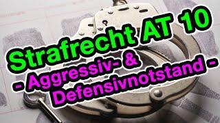 Aggressiv- und Defensivnotstand §§ 228, 904 BGB - Strafrecht AT 10