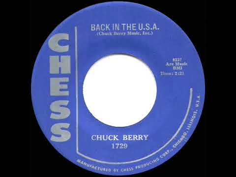 1959 HITS ARCHIVE: Back In The U.S.A. - Chuck Berry