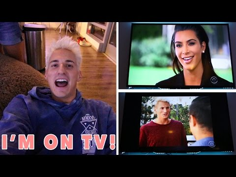 Thumbnail: I WAS ON TV WITH KIM KARDASHIAN! 60 MINUTES!