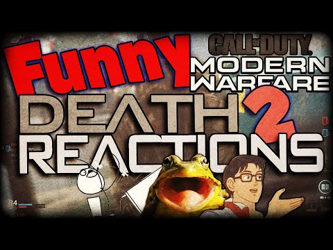 Funny Death Reaction - Bomb Explosions And RPG Rage - Modern Warfare