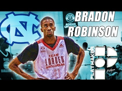 Brandon Robinson is Shooting his Way to UNC! Official Summer Mixtape!