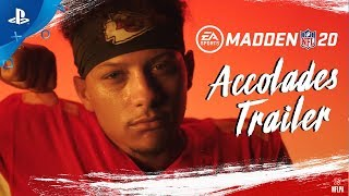 Madden NFL 20 – Official Accolades Trailer | PS4