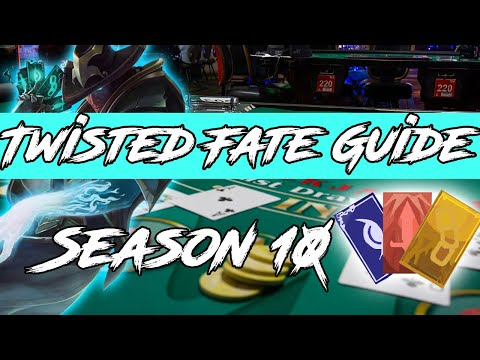 5 Tips Every Twisted Fate Player Needs To Know! League of Legends Twisted Fate Guide Season 10 2020