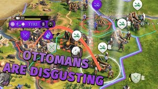 Ottomans Are Actually Disgusting (and Volcanoes Are Too) - Civ 6 Gathering Storm