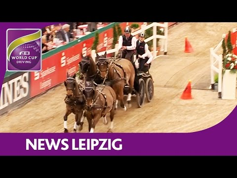 Boyd Exell wins his 3rd Qualifier - News - FEI World Cup™ Driving - Leipzig