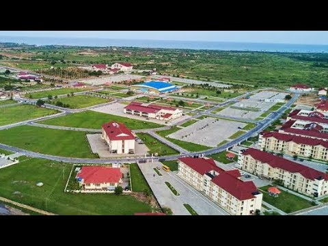 This is Pentecost Convention Centre (PCC) built by The Church of Pentecost in Ghana🇬🇭 ~ Drone View