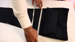 Measuring your best fitting Trousers