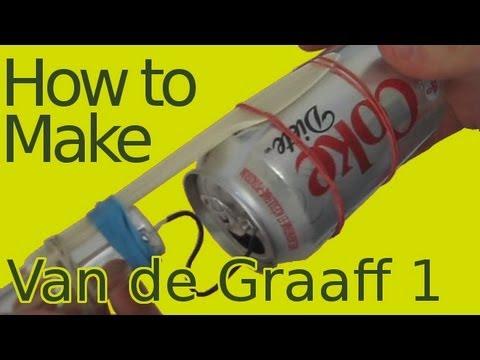 How to build/make a Van de Graaff generator