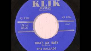 Ballads - A Fool - Previously Unreleased - Klik 1021 - Recorded Circa 1956