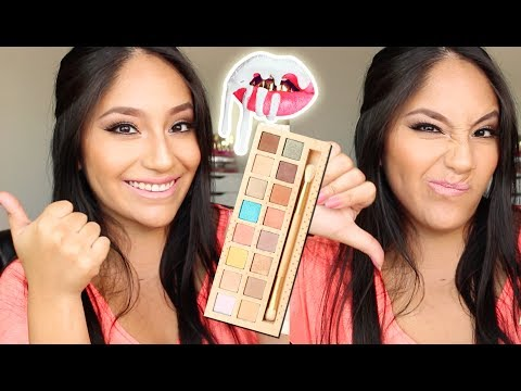 KYLIE COSMETICS VACATION Palette!! WORTH IT?!? (SWATCHES, REVIEW ETC)