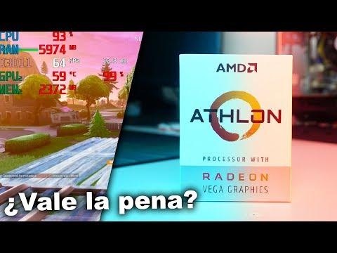 ¡EL CPU más barato con gráficos Radeon VEGA llego! | AMD Athlon 200GE - Proto Hw & Tec