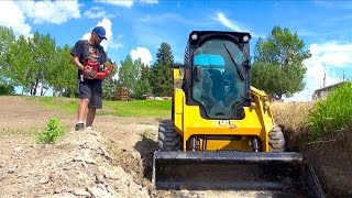 RC ADVENTURES - Radio Control Skid Steer - Full Sized CAT 242D