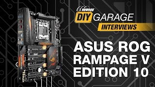 newegg DIY Garage: ASUS ROG Rampage V Edition 10 Motherboard