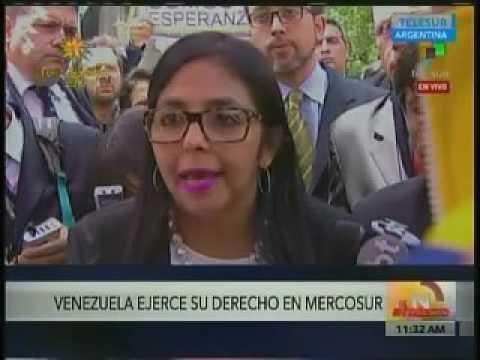 Delcy Eloína asegura que fue agredida en  Mercosur