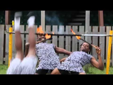 Pleasure Island African Acrobat Show