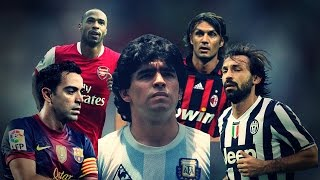 Top 10 Legends Who Didn't Win The Balon D´Or HD