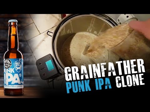 Punk IPA Clone on GrainFather (with GrainFather Connect APP)