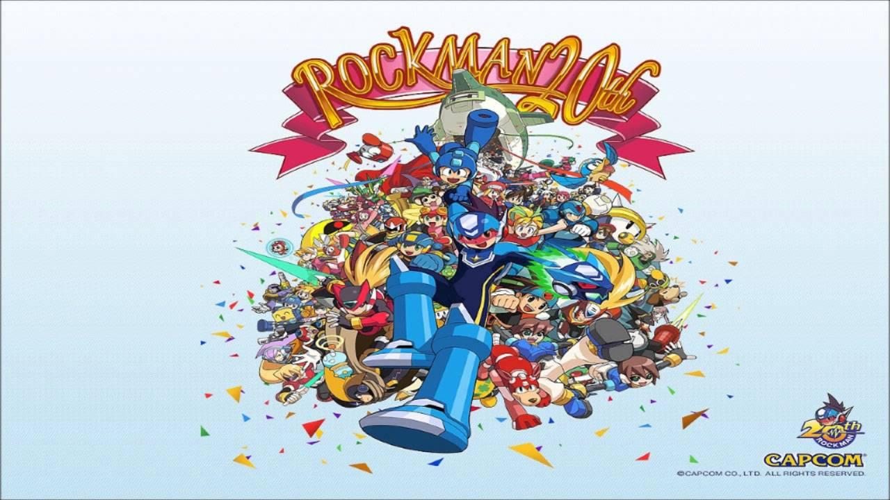 Mega Man 20th Anniversary Get A Weapon Rockman 3 Mix