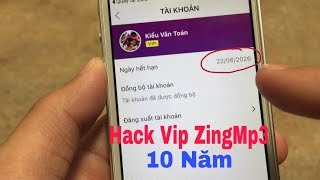 Hack Tài Khoản Vip ZingMp3 10 Năm