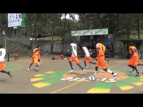Deng Mayot Mabior 7ft 4  Dankind Academy 2013 2nd Leg Highlights (Nairobi Basketball Association)