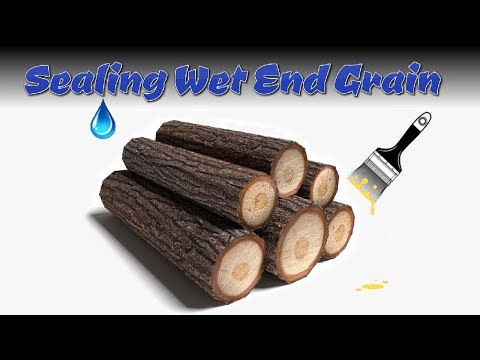 2 Cheap Products That Seal Wet End Grain Wood Awesome!