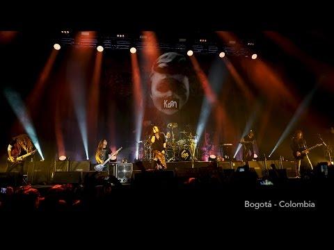 Korn - Blind LIVE 2017 Bogota Colombia