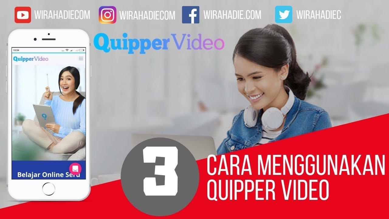 Cara Download Video Quipper Menggunakan HP