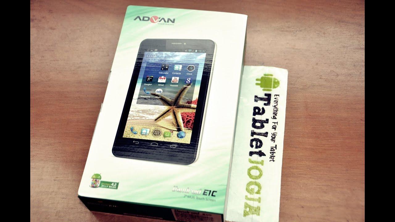 Advan E1C Tablet Vandroid 7inch Dual Core Jelly Bean