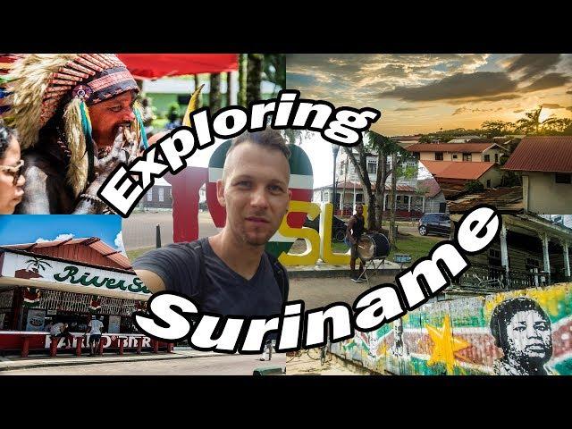 My Expat Diary - Exploring Suriname (Paramaribo & Dag van de Inheemsen) Raw Travel Vlog 2018