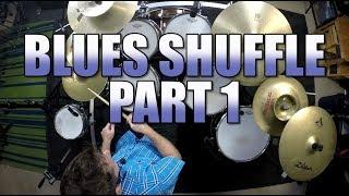 Drum Lessons - Blues Shuffle - Part 1