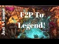 EASY CHEAP SECRET MAGE! - F2P TO LEGEND #12 - HEARTHSTONE